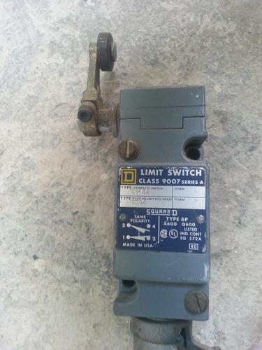 limit switch o fin de carrera marca square d modedelo 9007