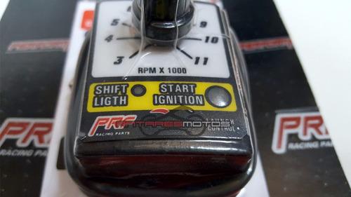 limitador corte rpm con antirrobo y control de largada prf