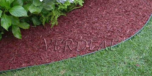 limitador de grama 50 metros borda fina verde - o original
