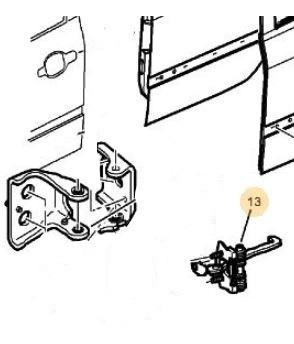 limitador tope puerta trasera peugeot 307 2.0