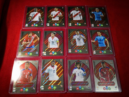 limited edition panini  adrenalyn xl rusia 2018