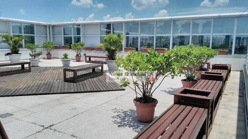 limão-zn/sp - sala comercial 1.000m2 edifício corporativo de alta qualidade - sa0054