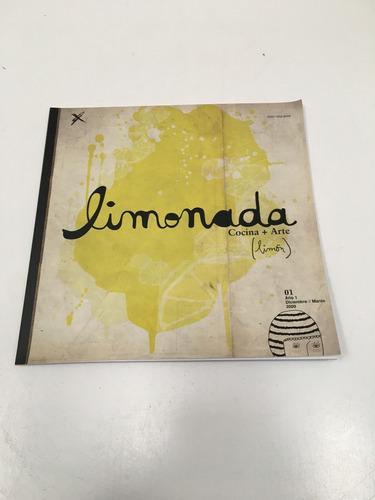 limonada, revista de cocina y arte (limón)