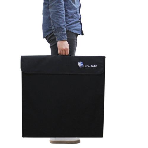 limostudio 25inch cube box black fotografía iluminación