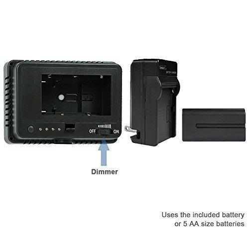 limostudio agg1318 160 led inhalambrico cámara y videocámara