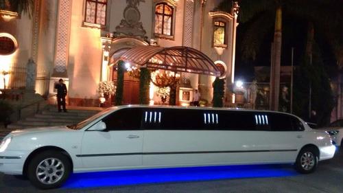 limousine branca locação