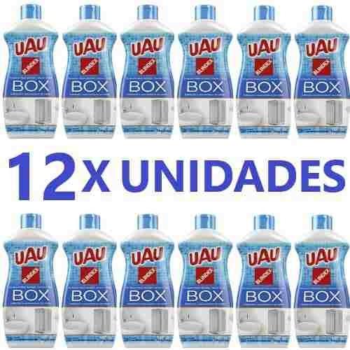 limpa box uau 200ml aprovado pela blindex - com 12 unidades