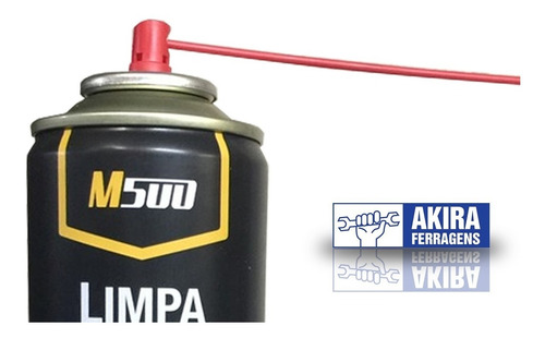 limpa contato spray m500 300ml eletrico eletronico pc placa