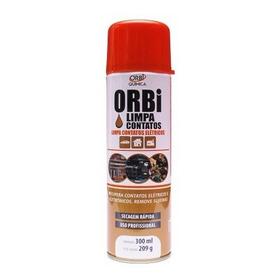 Limpa Contatos Elétricos Spray 300ml - 209g - Orbi