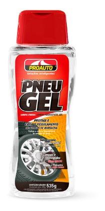 limpa pneus gel para pneus - proauto