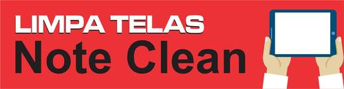 limpa telas note clean, limpa monitores, 50 unidades