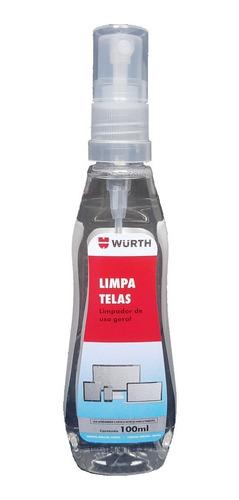 limpa telas wurth 100ml