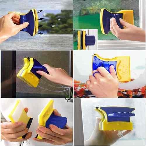 limpa vidros magnético