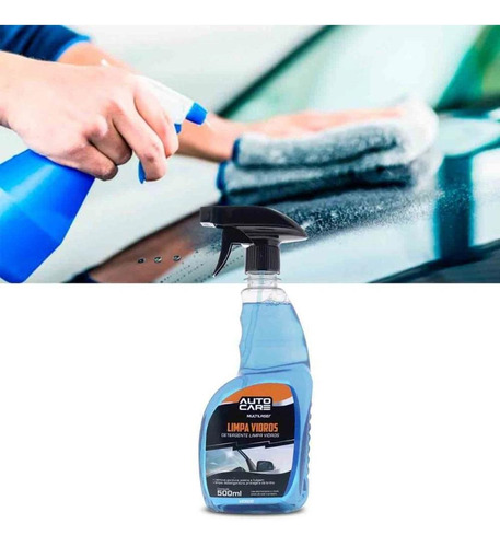 limpa vidros multilaser autocare au446  c/borrifador 500ml