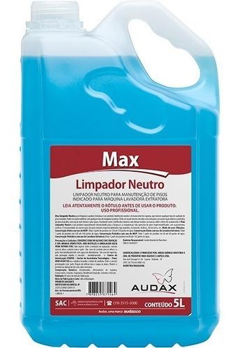 limpador concentrado neutro para manutenção e limpeza de pisos tratados com cera seladora impermeabilizantes 5 litros