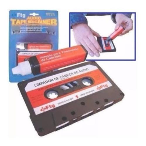 limpador de cabeça de áudio