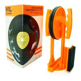 Limpador De Lp De Vinil - Plástico - Discos