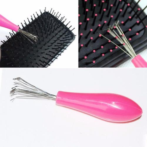 limpador escova de cabelos universal super pratico