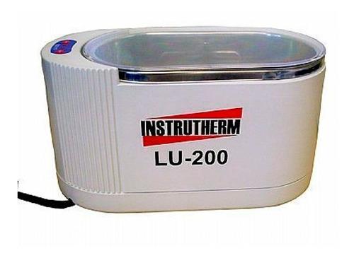 limpador ultrassônico 110v limpa joia, prata, ouro, óculos..