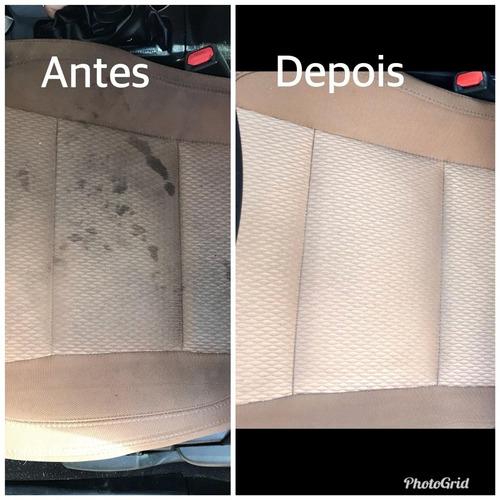limpeza a seco e impermeabilização