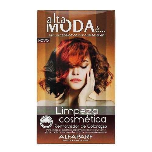 limpeza cosmética alta moda removedor de coloração alfapa