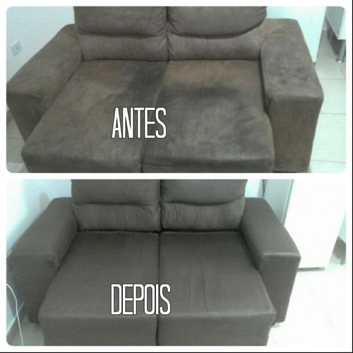 limpeza de sofás e estofados em geral.