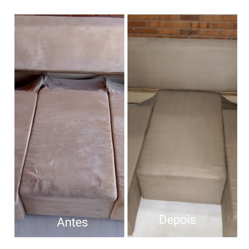 limpeza e higienização de estofados.