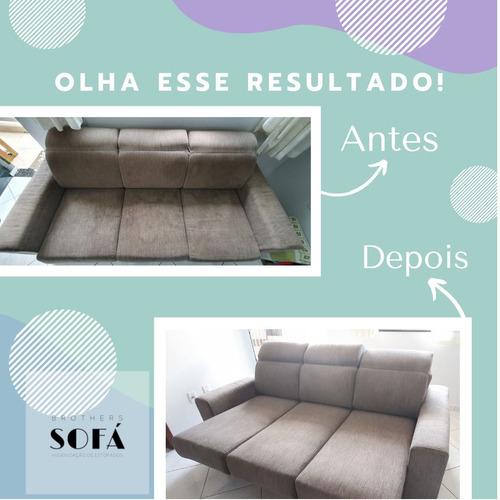 limpeza e higienização de estofados e tapetes