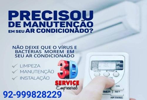 limpeza e manutenção de ar condicionado condensador manaus