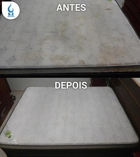 limpeza estofados higienização