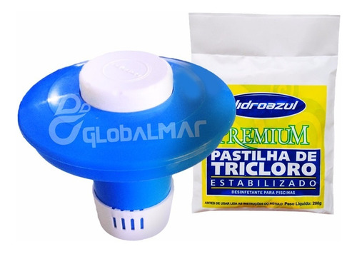 limpeza piscina kit