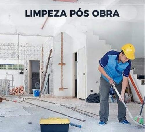 limpeza pós obras e limpeza de vidros