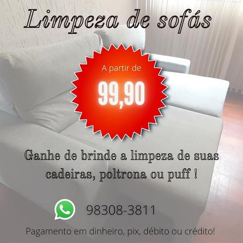 limpeza sofa