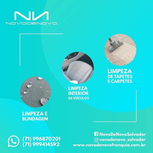 limpeza/lavagem a seco/higienização/blindagem de estofados