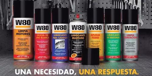 limpia carburadores y cuerpo mariposa w80