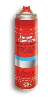 limpia contactos electricos fichas terminales locx