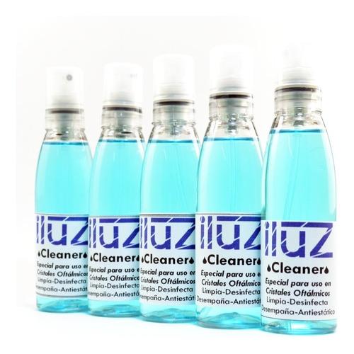 limpia cristales oftálmicos anteojo sol 30 ml iluz combo x 5