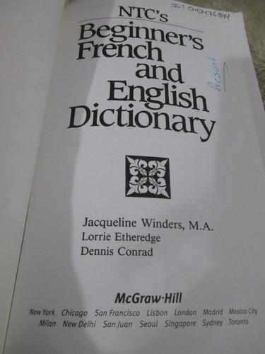 limpia de closet ~diccionario frances y ingles~dhl gratis