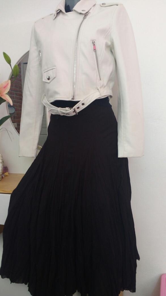 Limpia De Closet Falda Negra Larga Marca First Choice -   99.00 en ... dd0c5f3df806