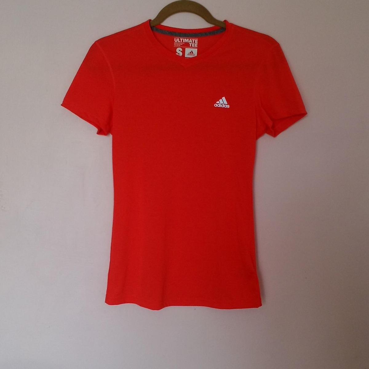 limpia de closet - playera adidas ultimate tee anaranjada. Cargando zoom. bc225276773ec