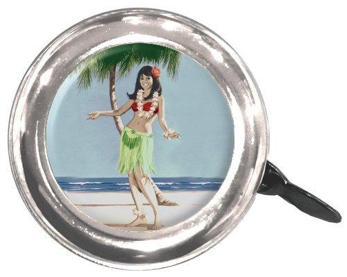 limpia de movimiento del chica de hula de bell