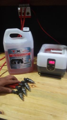 limpia hasta 300 inyectores/ en tina de ultrasonido