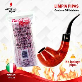 Limpia Pipas X50 Unid  David Ross-italia.  Envía Banimported