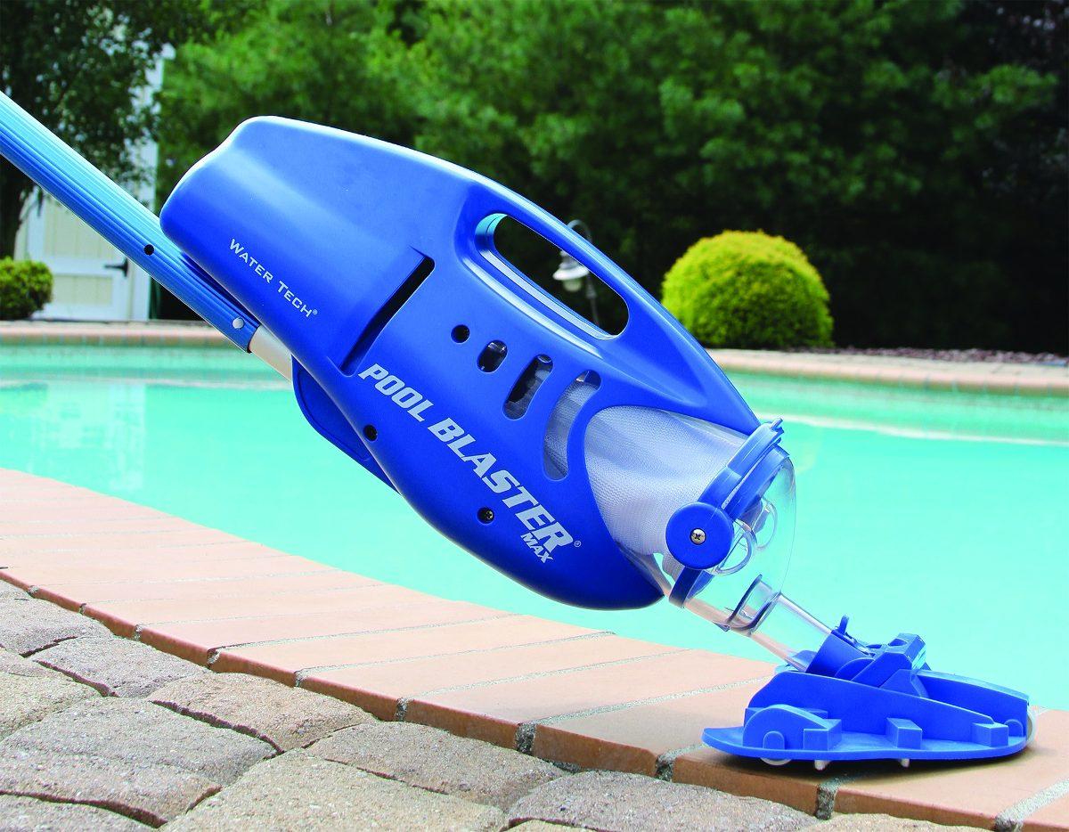 Limpia piscina grande port til pool blaster max bater a for Limpiadores de piscinas