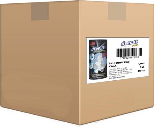 limpia sanitarios drop-it  caja con 12 pz