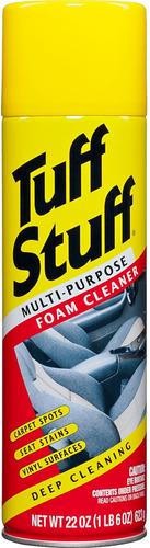 limpia tapizados multiuso espuma en aerosol tuff stuff