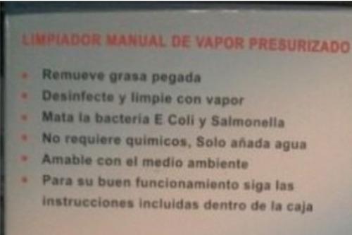 limpiador a vapor vaporetto marca kleine