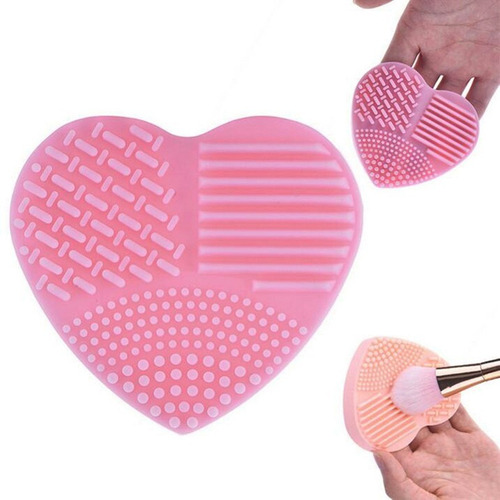 limpiador brochas de maquillaje en silicona