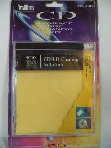 limpiador cd/ld video compact disc digital audio