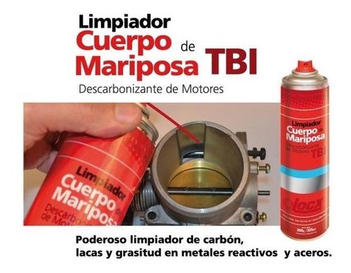 limpiador cuerpo mariposa locx 325ml carbon lacas grasitud